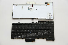 DK Backlit Norsk Danish Keyboard for Dell Latitude E6400 E5510 E6410 E6510 M4500