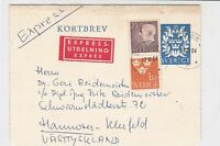 sweden 1964 stamps cover ref 19567