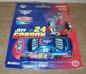 JEFF GORDON #24 DUPONT BRICKYARD WINNER 2001 1/64 ACTION DIECAST CAR