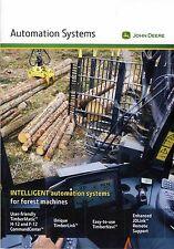 John Deere Forestry Automation Systems 08 / 2014 catalogue brochure English