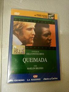 DVD QUEIMADA MARLON BRANDO PONTECORVO Nuovo Con Cellophane (MIS)