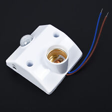 E27 220V Infrarrojo Movimiento Sensor Pir Automático LED Soporte Interruptor O1