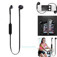 Sport Wireless Earpiece Bluetooth Headset Stereo Earphone for iPhone Smartphone