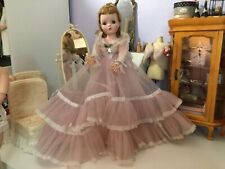VINTAGE ALEXANDER CISSY DOLL TAGGED Melanie Pink Tulle Ball Gown ~Gorgeous!
