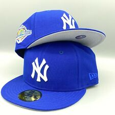 Yankees World Series 1996 59FIFTY New Era Royal Blue Fitted Hat Cap Gray Bottom