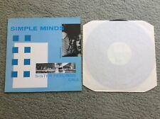 Simple Minds Sister Feelings Call LP