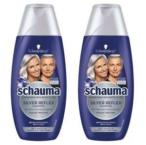 Schwarzkopf Schauma Silver Reflex Shampoo 2 x 250ml