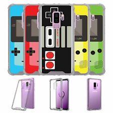 For Samsung Galaxy S9 Plus SM-G965 | S9 Plus Black TPU Bumper Case - Retro Games