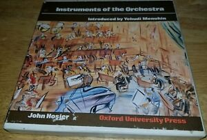 1977 Oxford Vintage Vinyl Instruments Of the Orchestra Yehudi Menuhin 4 33RPM