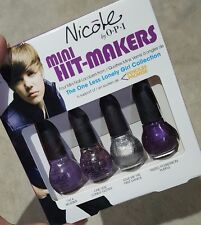 NICOLE BY OPI NAIL POLISH THE ONE LESS LONELY GIRL JUSTIN BIEBER MINI HIT-MAKERS