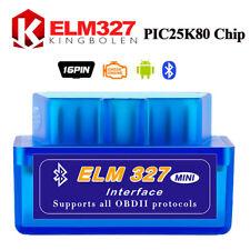 ELM327 V1.5 Bluetooth OBDII Car Diagnostic Tool OBD2 Code Scanner Android Torque