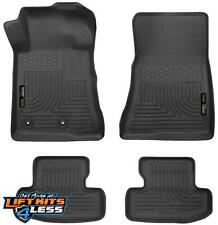 Husky Liners 98371 Black Front & 2nd Row Floor Liners Set for 10-14 Ford Mustang