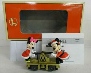 LIONEL 18433 MICKEY AND MINNIE HANDCAR