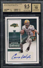 2016 Contenders Draft Picks Carson Wentz BGS 9.5 Autograph 10 Rookie Card