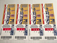 4 2005 Divisional Tickets St Louis Cardinals game 3 NLDS 3 Diamond Box