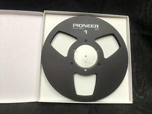 """New! Black Pioneer NAB 10.5"""" inch Metal Reel for 1/4"""" tape copy of PR-100"""