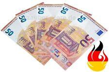 Zauberpapier Pyropapier 50 Euro x 10St Fire Flash Paper Pyro Blitzpapier Trick