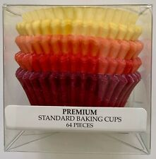 CupcakesCreations Premium Standard Baking Cups No Muffin Pan Needed 64 Pieces