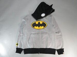 20439 DC × Bape full zip hoody gray/black XL