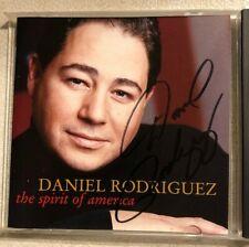 The Spirit of America~Daniel Rodriguez CD Singed On the CD & Below Jewelbox 2002