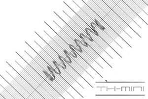 Druckfeder Drahtstärke: 1mm, Außen Ø: 11mm, Länge: 52mm, Edelstahl