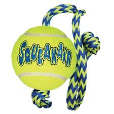 KONG AirDog SqueakAir Ball with Rope Dog Toy MEDIUM