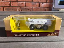Solido No 6027 VAB 4X4 United Nations In Original Box - Near Mint Rare