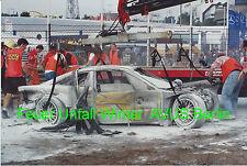 DTM 1994 John Winter  † Feuer Unfall, LeMans Sieger 85 Foto 20cmx30cm