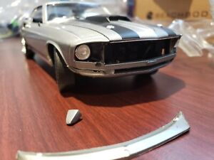 "DAMAGED - HIGHWAY 61 18016 1:18 1969 FORD MUSTANG BOSS 429 ""JOHN WICK"" 2014"