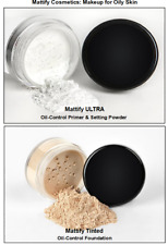 Best Powder for Oily Skin Primer Vegan Matte Makeup Mineral Foundation Bare