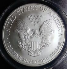 2005  AMERICAN EAGLE SILVER COIN, ANACS GRADED  HIGH MS68, 1 Oz. 999% Purity