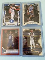 2019-20 Donruss Optic Matisse Thybulle Tmall Red Wave Prizm 4x Rookie Card Lot!