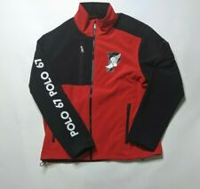 Polo Ralph Lauren PWing Jacket Sz Mens XL Full Zip Performance Black NWOT