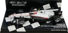 F1 1/43 SAUBER C29 FERRARI KOBAYASHI GERMAN GP 2010 MINICHAMPS