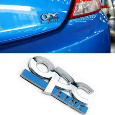 1 Pcs OPC Line Trunk & Fender Badge Sticker For CORSA ASTRA VEXTRA SRI VXR