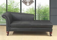 Lounge Liege Ottomane Polster Sofa Chesterfield Relax Leder Chaiselongues #1670