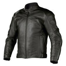 Dainese Zen Evo Perforated Leather Motorcycle Jacket Black 52 Euro/42 USA
