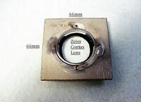 Kodak Precision Enlarger board for Zeiss Contax lenses | $35 |
