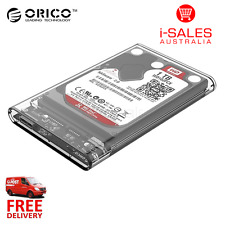 "Orico USB 3.0 2.5"" Transparent External Hard Drive 2.5 inch Enclosure (2139U3)"