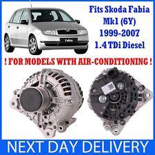 SKODA FABIA MK1 6Y 1999-2007 1.4 TDi DIESEL NEW ALTERNATOR AMF BNV BNM