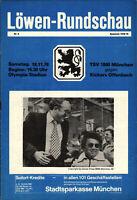 II. BL 78/79 TSV 1860 München - Kickers Offenbach, 18.11.1978, Dr. Erich Riedl
