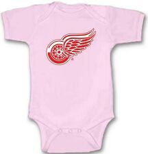 DETROIT RED WINGS Hockey Baby Bodysuit Cute New Gift Choose Size & Color