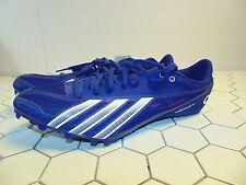 Adidas Sprint Star 4 M B40815 Blue Track & Field Spikes Shoes Men's SZ 11