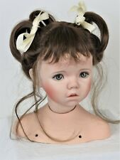 "28"" ""Ashley"" HEAD ONLY (Expressions) Painted Eyes Connie Zink Land of Oz Dolls"