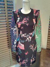 NWT VERSACE FOR H&M Japanese Print Tunic Mini Dress Size USA8 EU38  P10760
