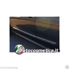Peugeot 208 SET 4 PROTEZIONI PORTE STAMPATE IN ACCIAIO CROMATO  CROMO