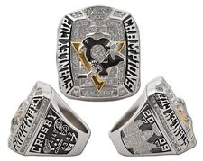 2009 Pittsburgh Penguins Stanley Cup Championship Replica Ring - Sidney Crosby