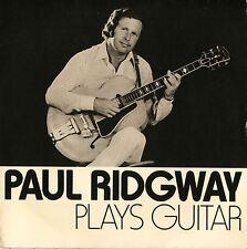 "PAUL RIDGWAY plays guitar 6 track ep LS 1737 uk liverpool sound 7"" PS EX/VG+"