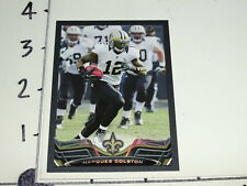 2013 TOPPS Marques COLSTON #179 Black SP/58 New Orleans SAINTS Hofstra PRIDE WR