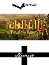 Konung 3: Ties of the Dynasty Steam Key - for PC Windows (Same Day Dispatch)